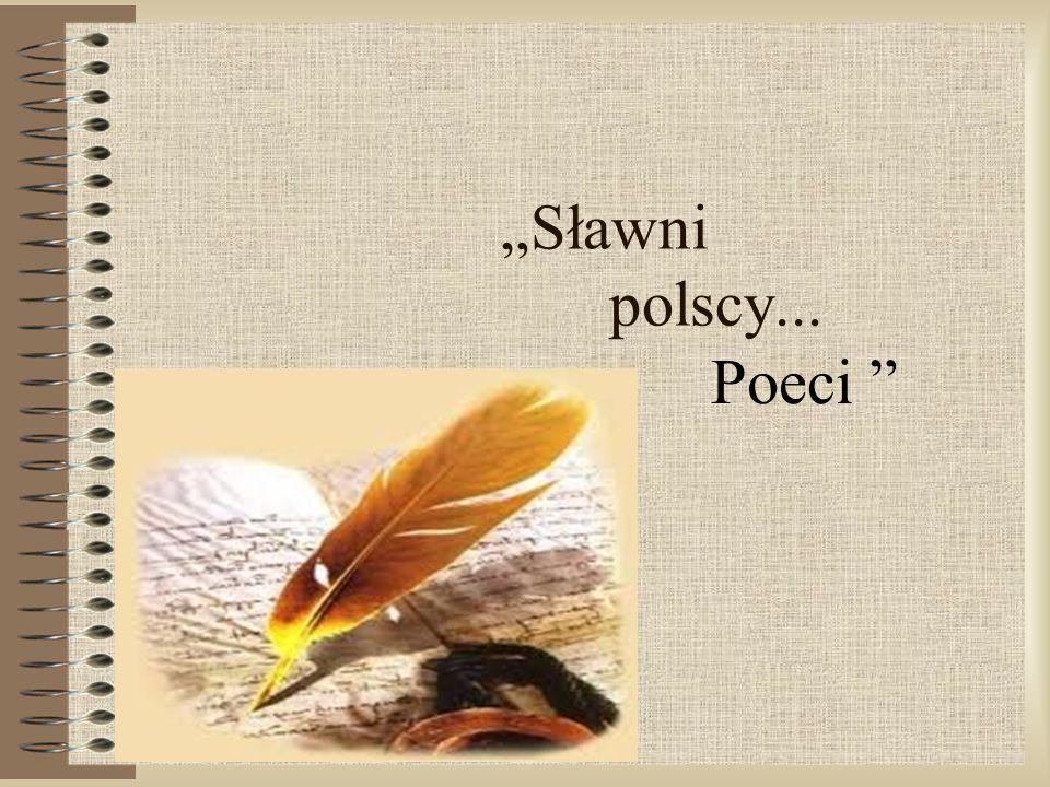 """""""Sławni polscy... Poeci"""