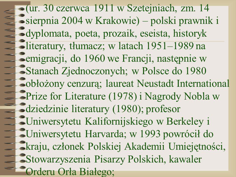 (ur. 30 czerwca 1911 w Szetejniach, zm