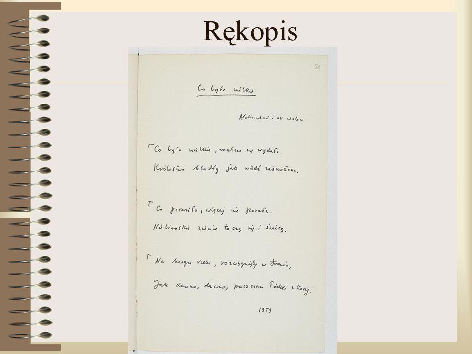 Rękopis
