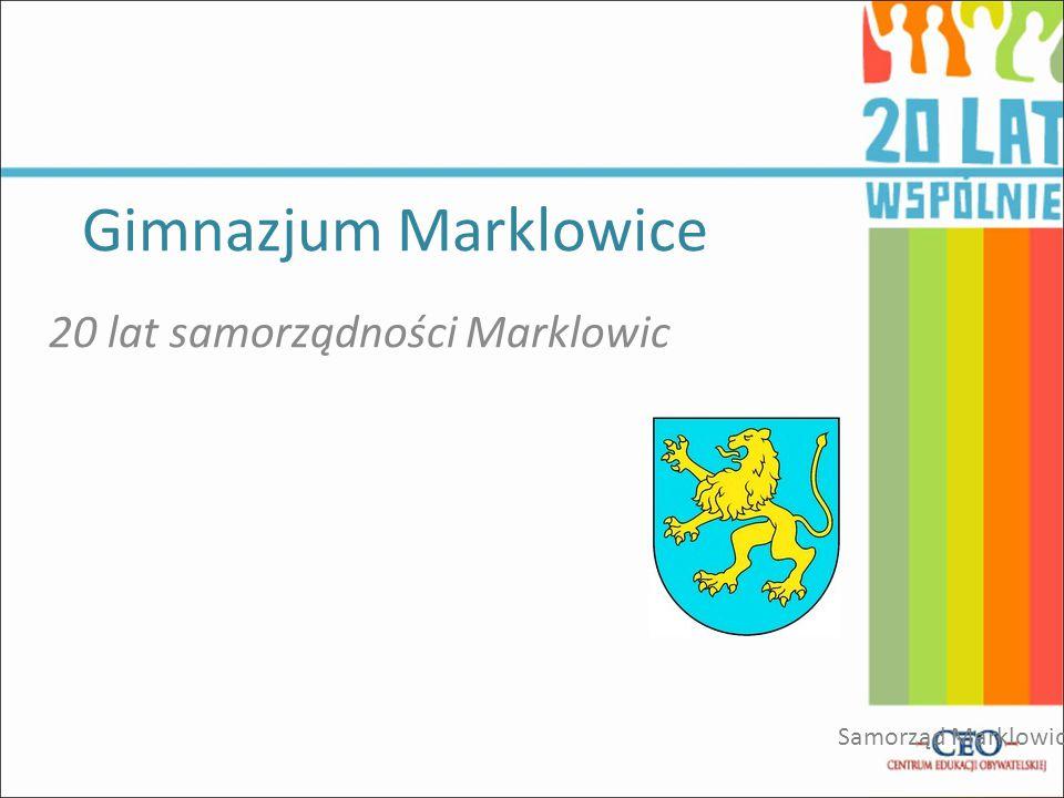 Gimnazjum Marklowice 20 lat samorządności Marklowic