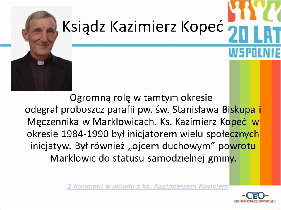 Ksiądz Kazimierz Kopeć