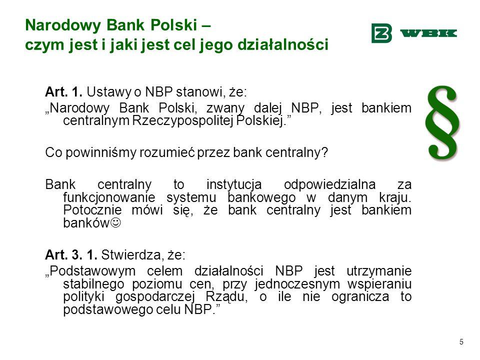 Narodowy Bank Polski – czym jest i jaki jest cel jego działalności