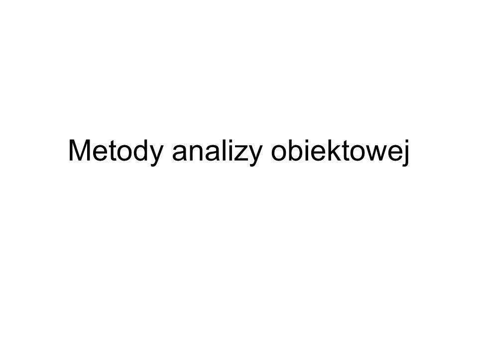Metody analizy obiektowej