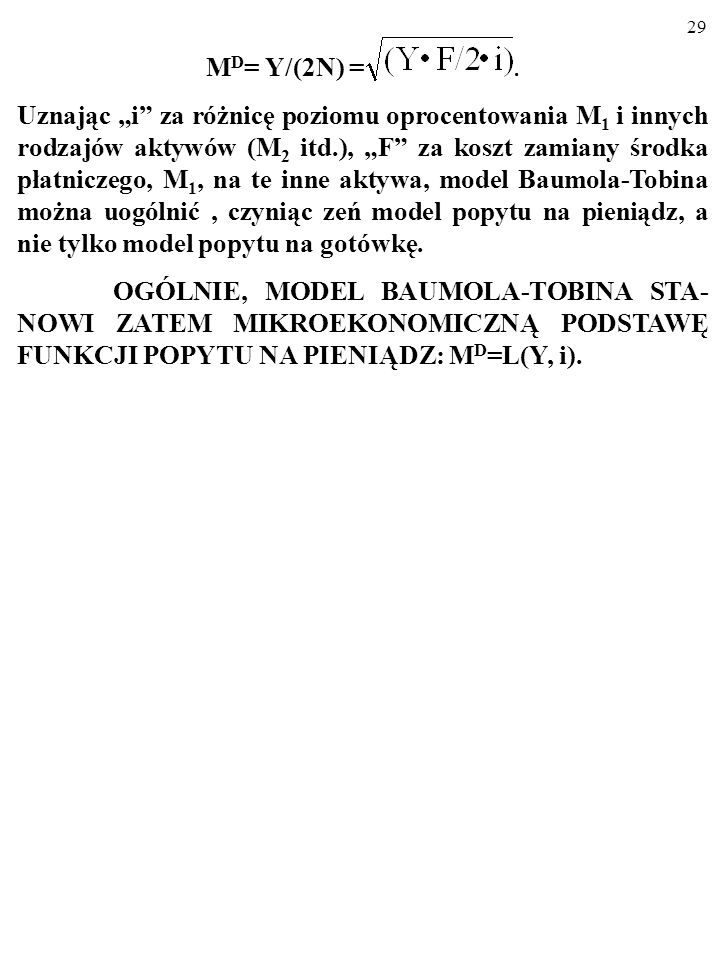 MD= Y/(2N) = .