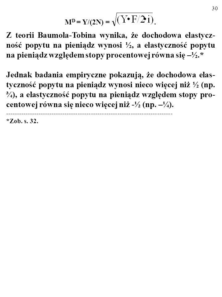 MD = Y/(2N) = .