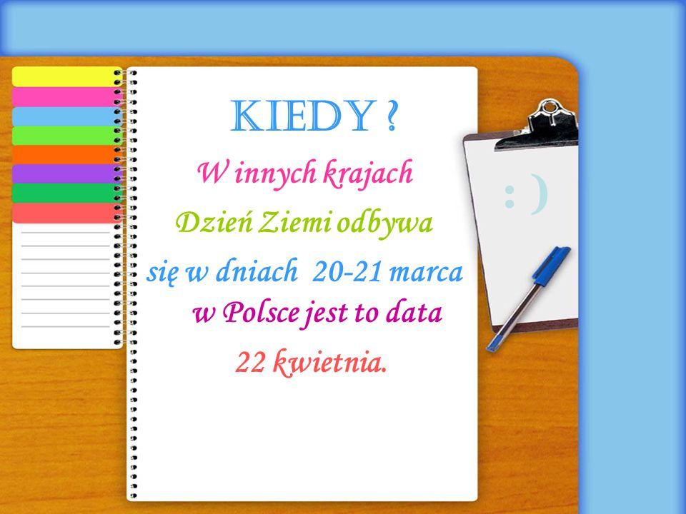 się w dniach 20-21 marca w Polsce jest to data