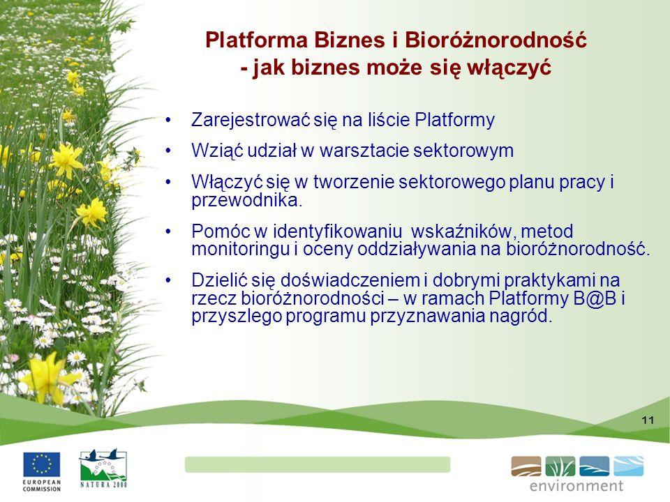Platforma Biznes i Bioróżnorodność - jak biznes może się włączyć
