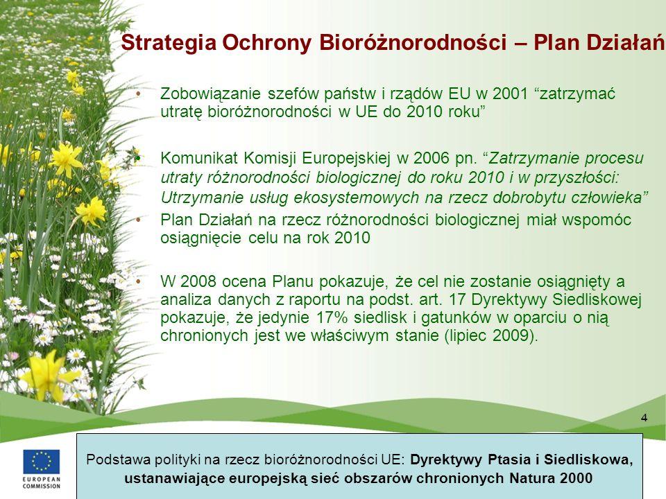 Strategia Ochrony Bioróżnorodności – Plan Działań