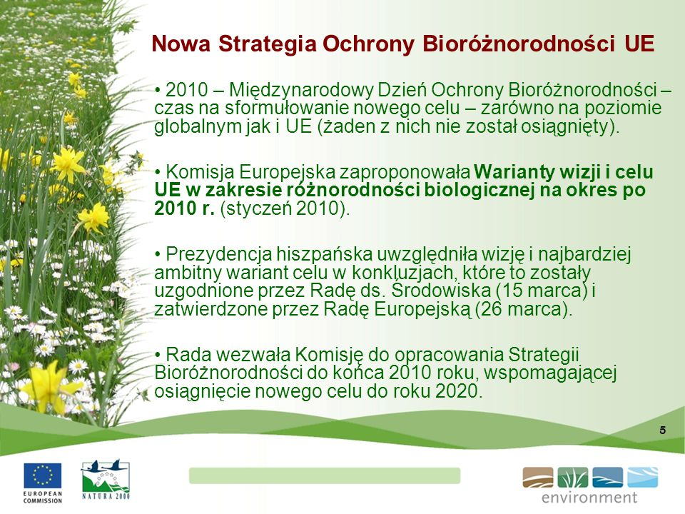 Nowa Strategia Ochrony Bioróżnorodności UE