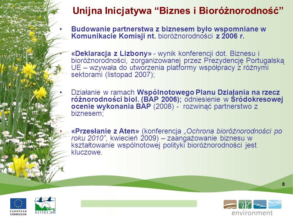 Unijna Inicjatywa Biznes i Bioróżnorodność