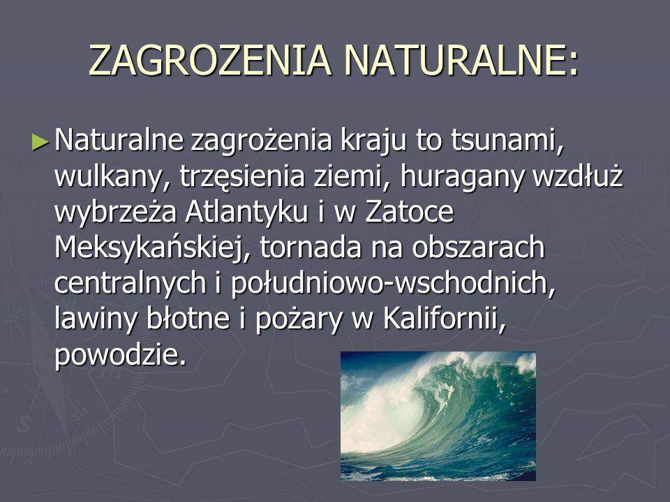 ZAGROZENIA NATURALNE:
