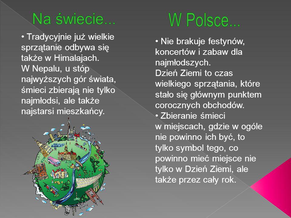 Na świecie... W Polsce...