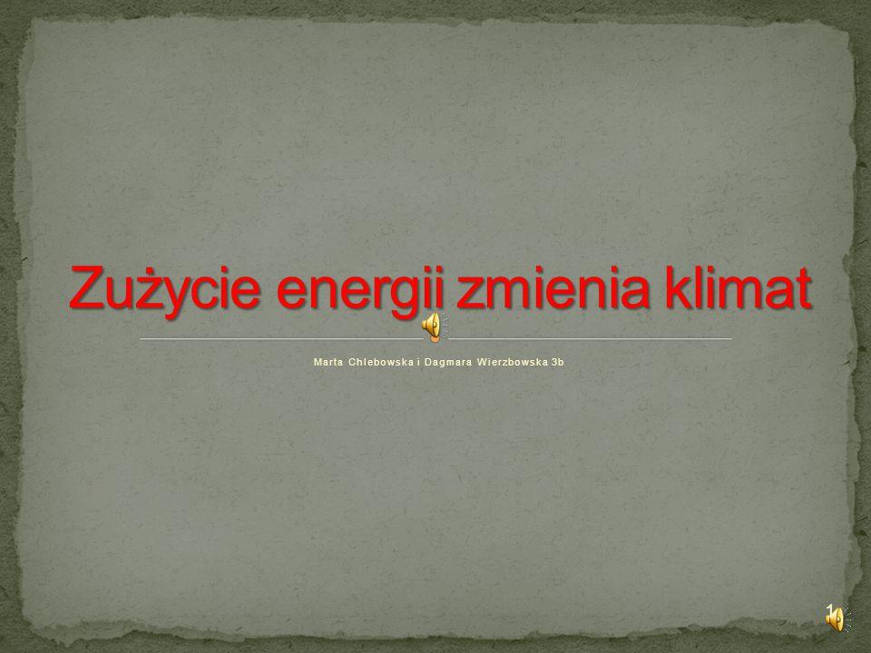 Zużycie energii zmienia klimat