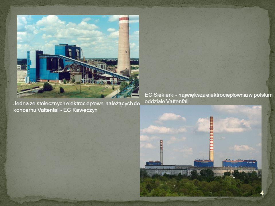 EC Siekierki - największa elektrociepłownia w polskim oddziale Vattenfall