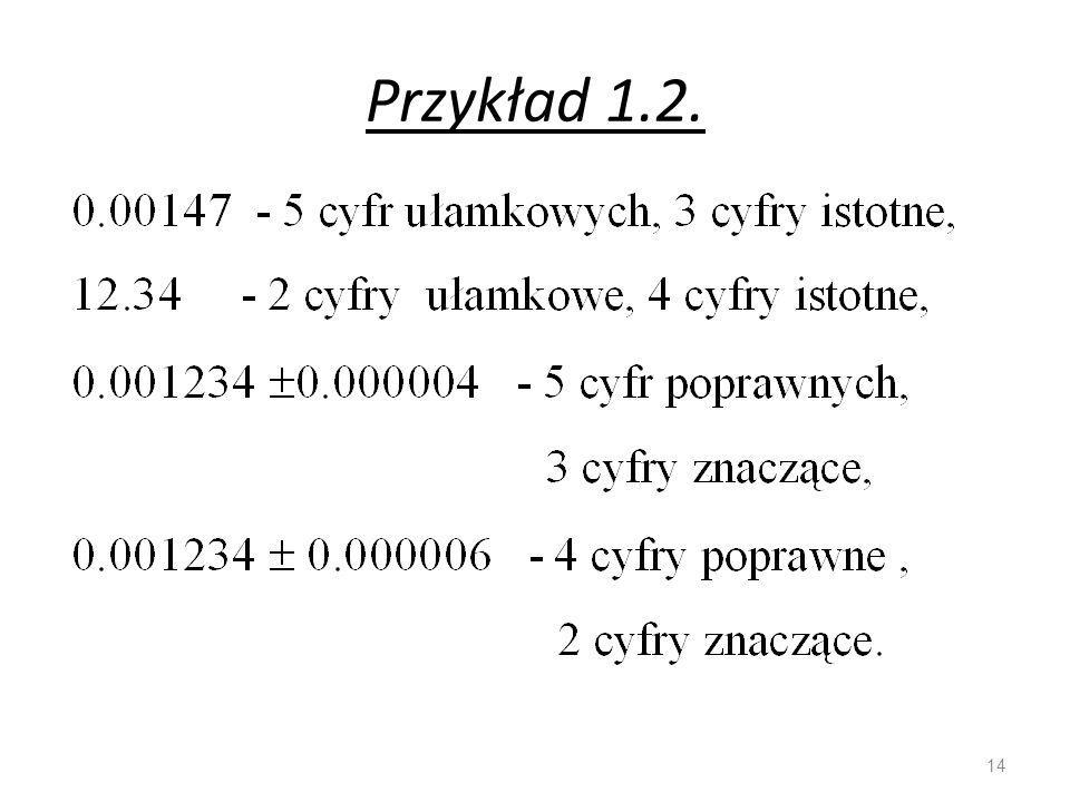 Przykład 1.2.