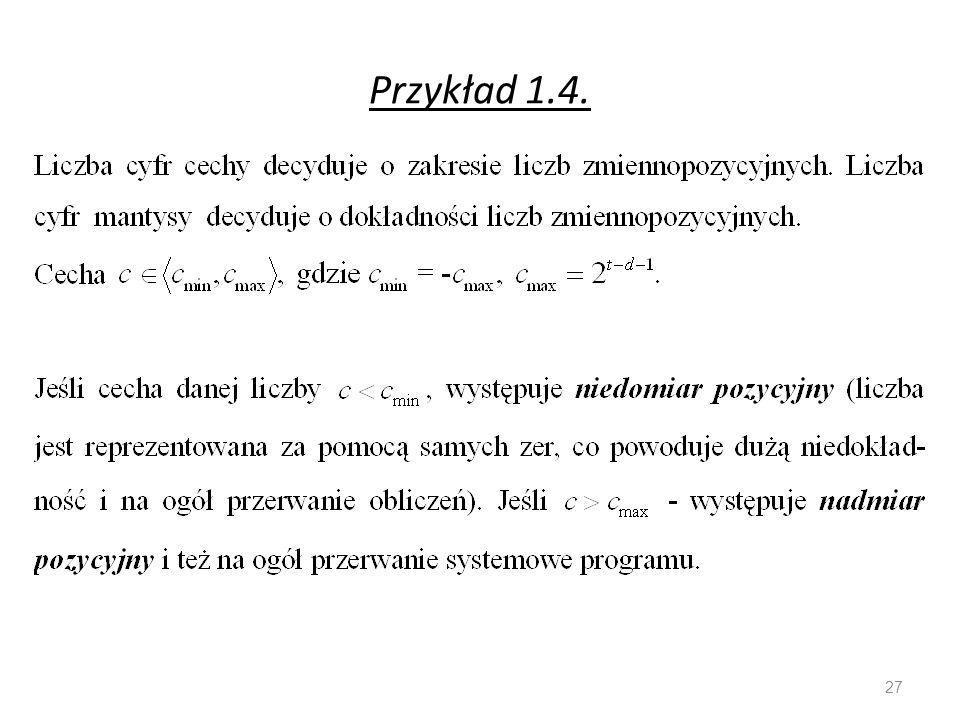 Przykład 1.4.