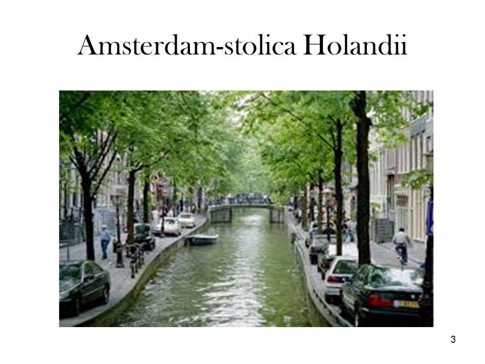Amsterdam-stolica Holandii