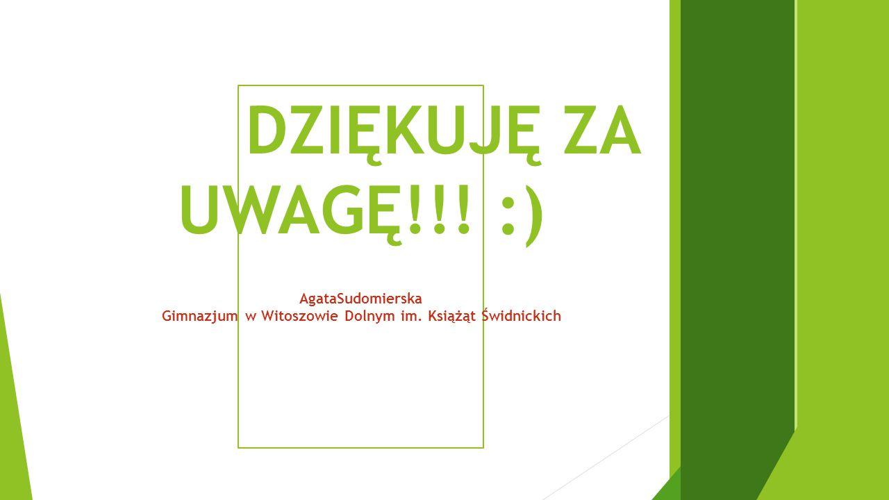 Gimnazjum w Witoszowie Dolnym im. Książąt Świdnickich