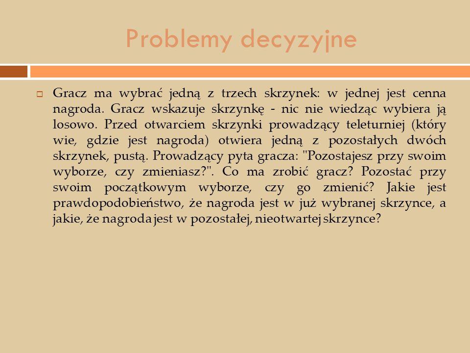 Problemy decyzyjne