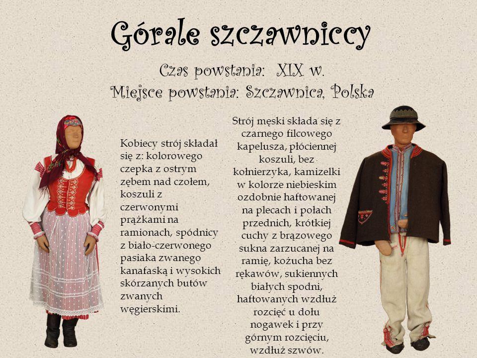 Miejsce powstania: Szczawnica, Polska