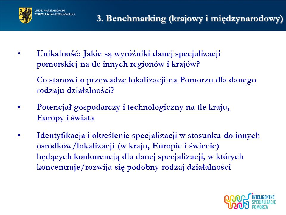 3. Benchmarking (krajowy i międzynarodowy)