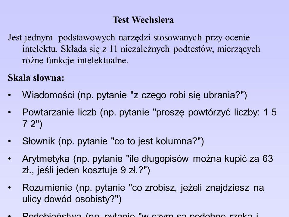Test Wechslera