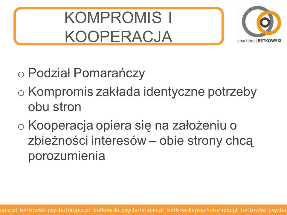 KOMPROMIS I KOOPERACJA