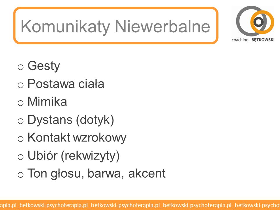 Komunikaty Niewerbalne