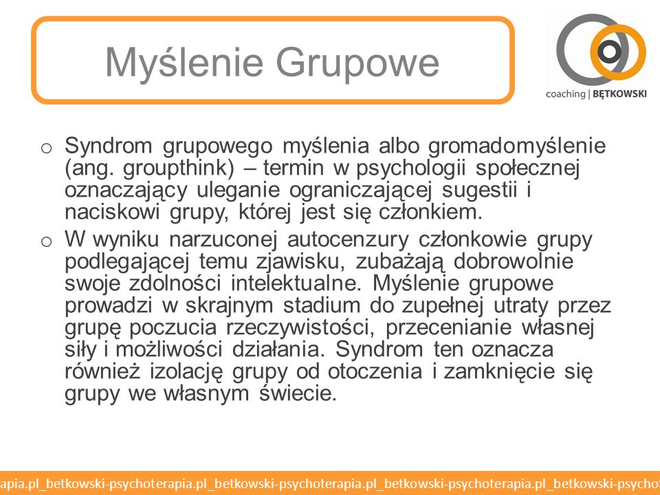 Myślenie Grupowe