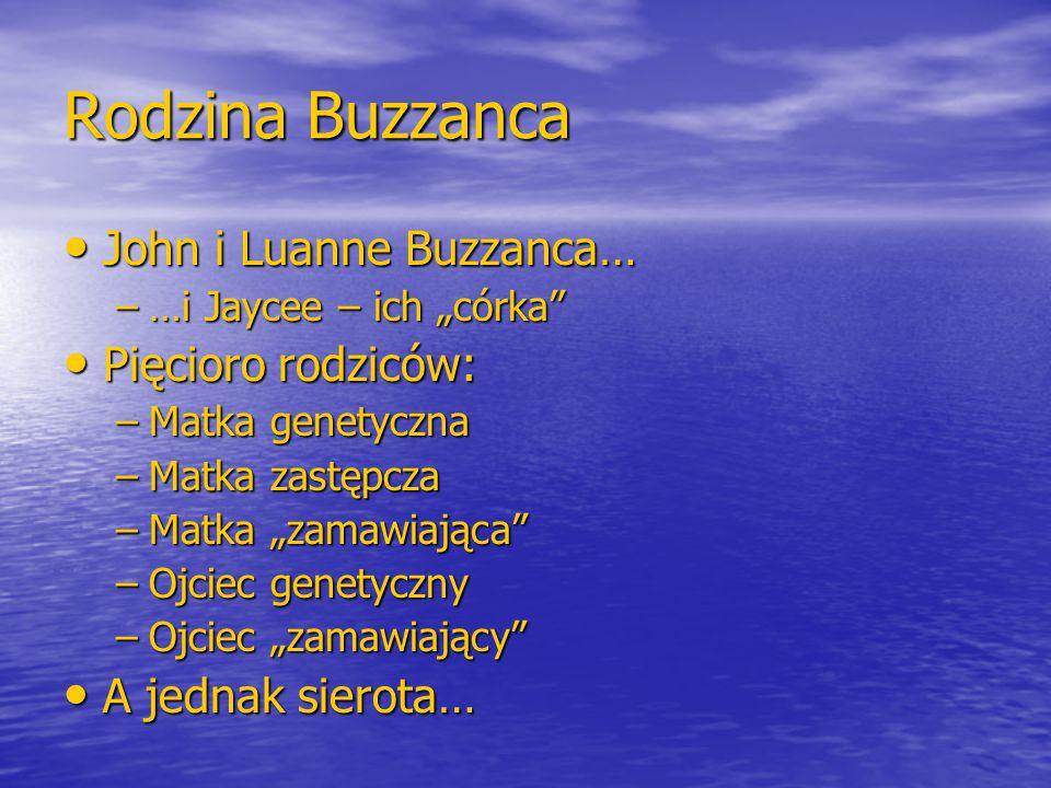 Rodzina Buzzanca John i Luanne Buzzanca… Pięcioro rodziców: