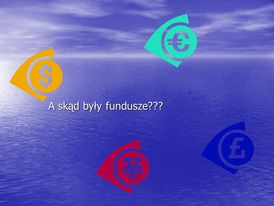 A skąd były fundusze