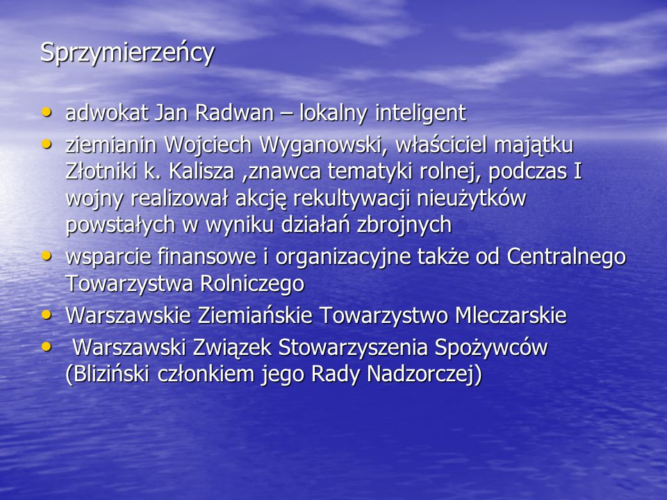 Sprzymierzeńcy adwokat Jan Radwan – lokalny inteligent
