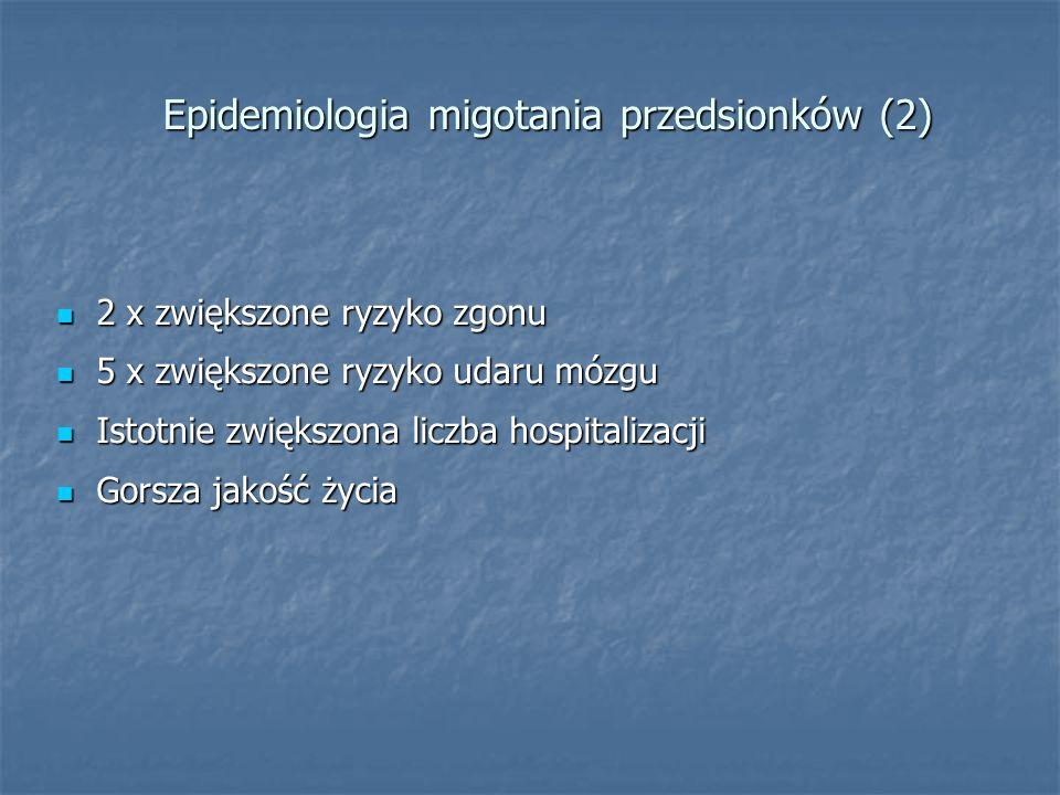 Epidemiologia migotania przedsionków (2)