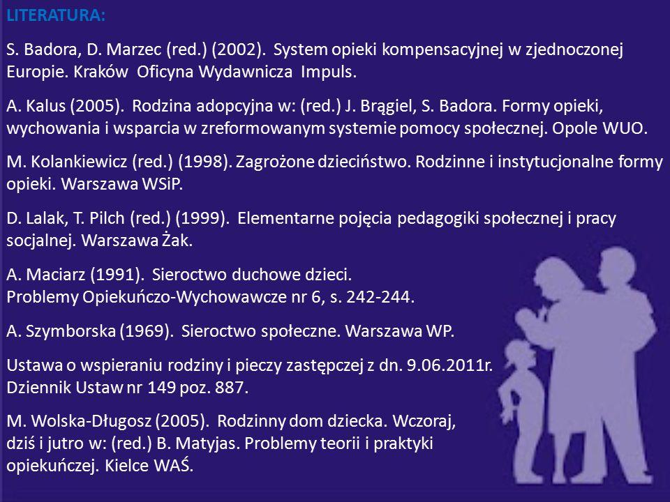 A. Maciarz (1991). Sieroctwo duchowe dzieci.