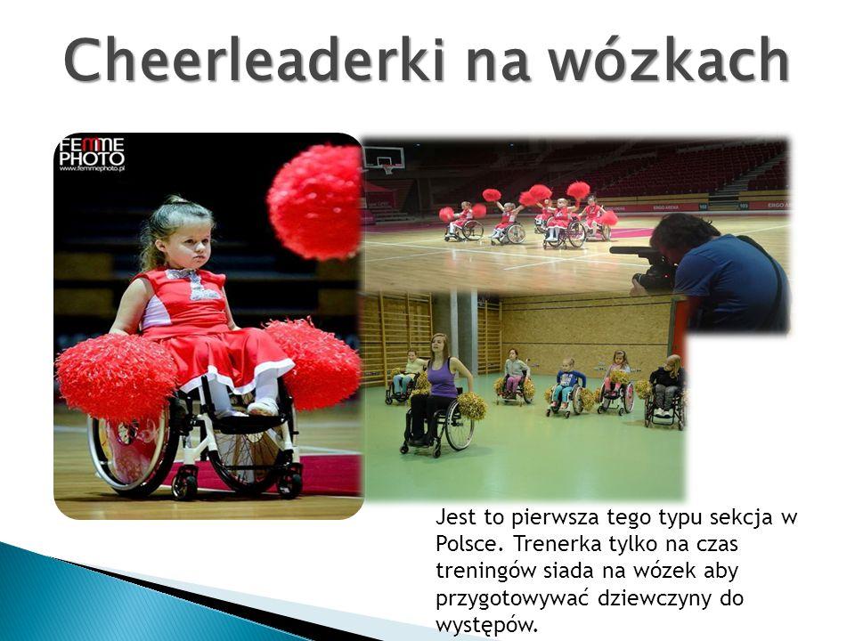 Cheerleaderki na wózkach