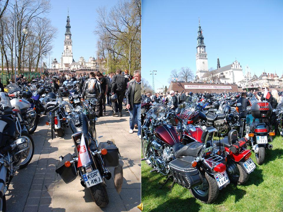 Zloty motocyklowe na Jasnej Górze