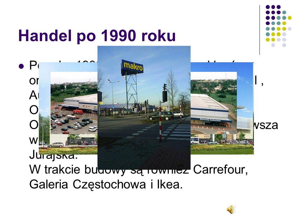 Handel po 1990 roku