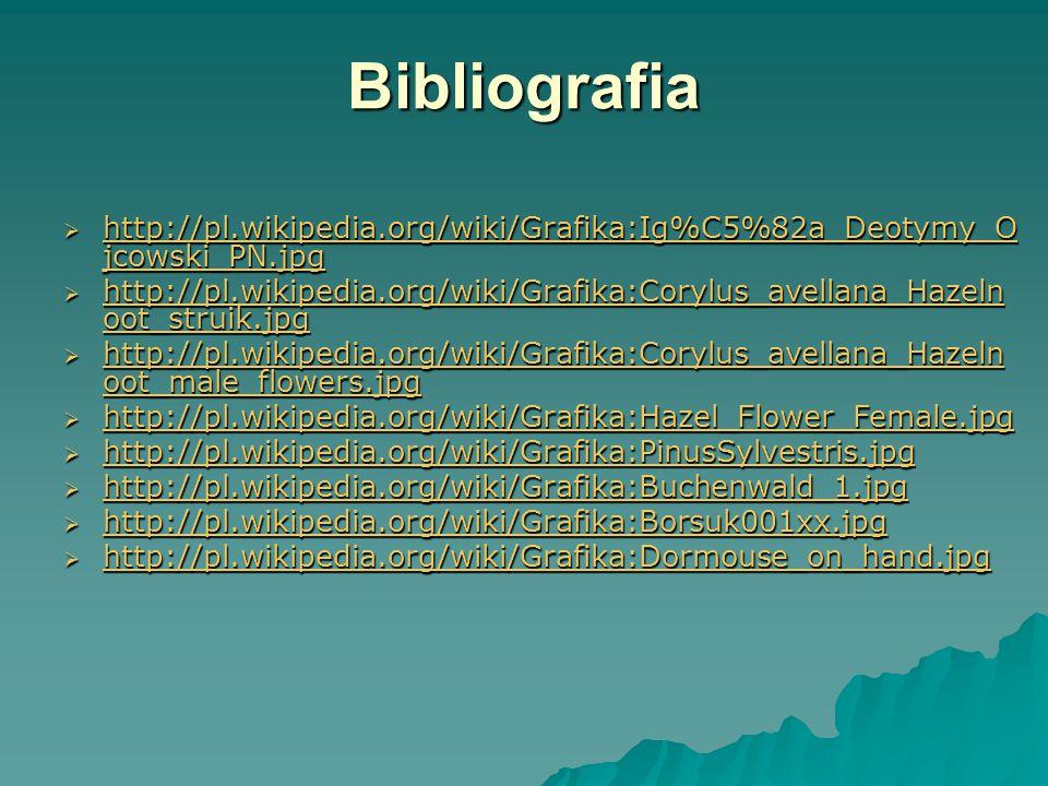 Bibliografia http://pl.wikipedia.org/wiki/Grafika:Ig%C5%82a_Deotymy_Ojcowski_PN.jpg.