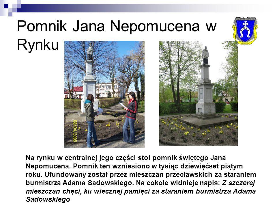 Pomnik Jana Nepomucena w Rynku