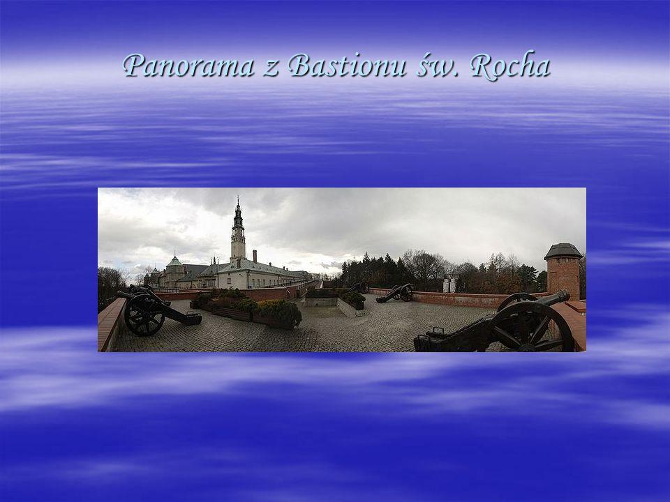 Panorama z Bastionu św. Rocha
