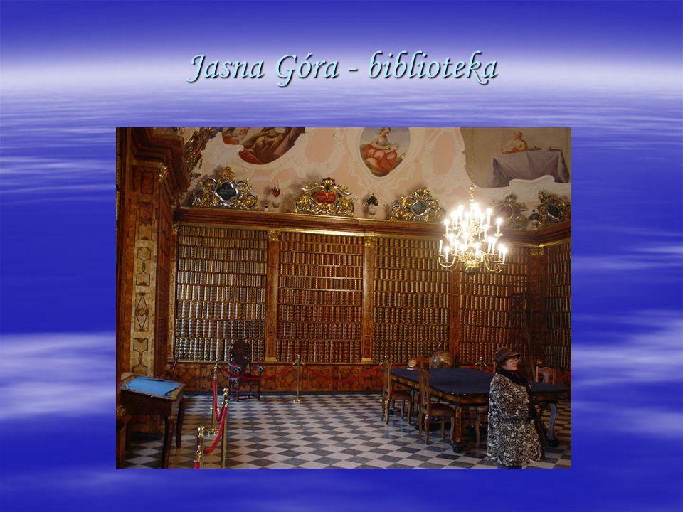 Jasna Góra - biblioteka