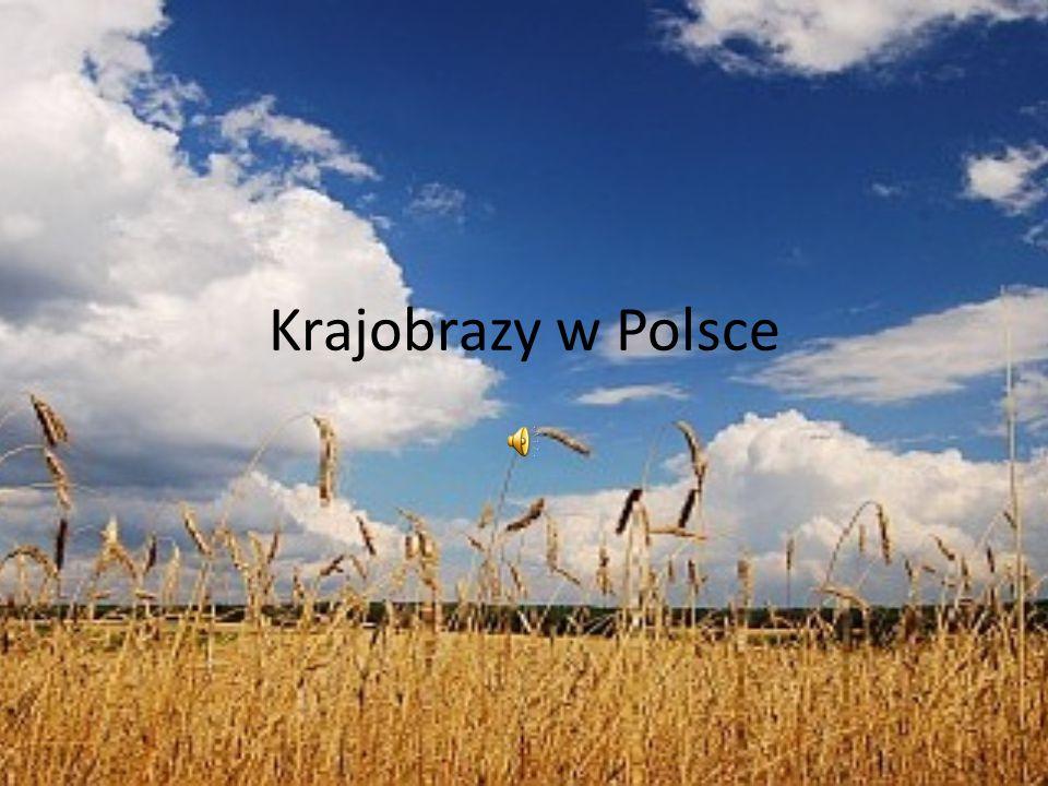 Krajobrazy w Polsce