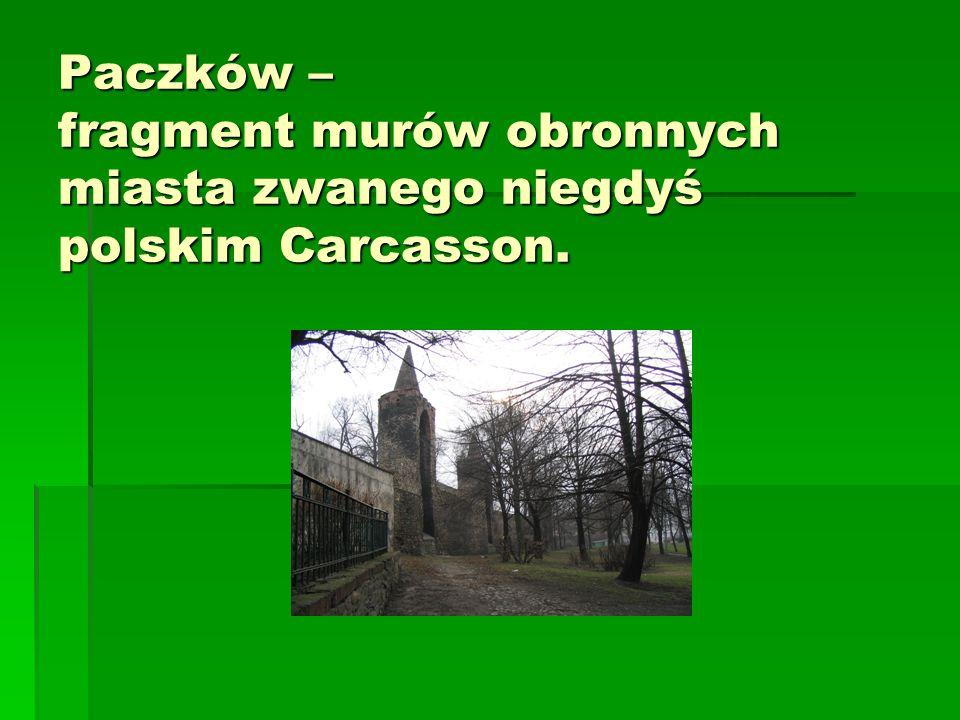 Paczków – fragment murów obronnych miasta zwanego niegdyś polskim Carcasson.