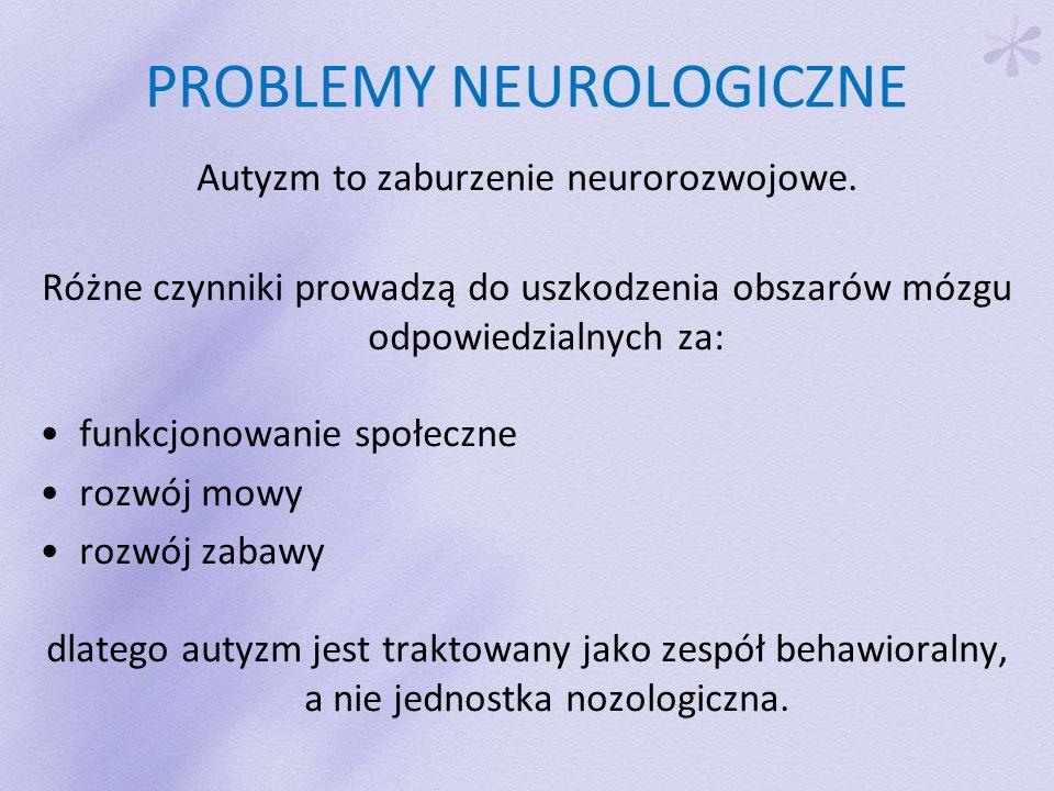 PROBLEMY NEUROLOGICZNE