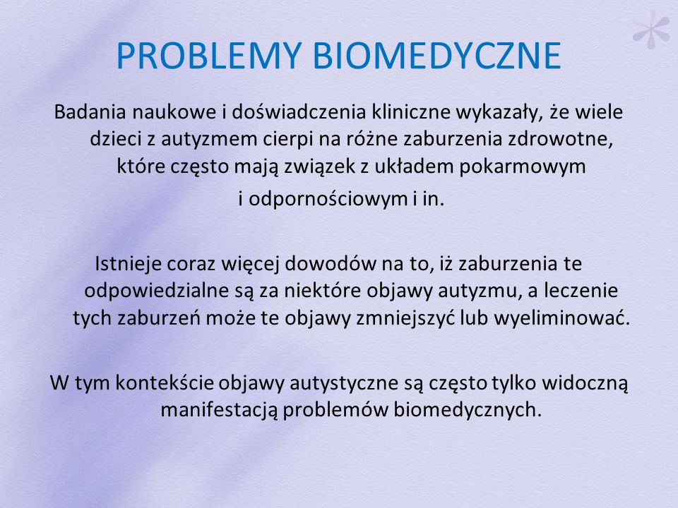 PROBLEMY BIOMEDYCZNE