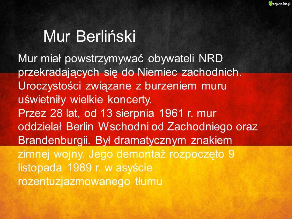Mur Berliński Mur Berliński