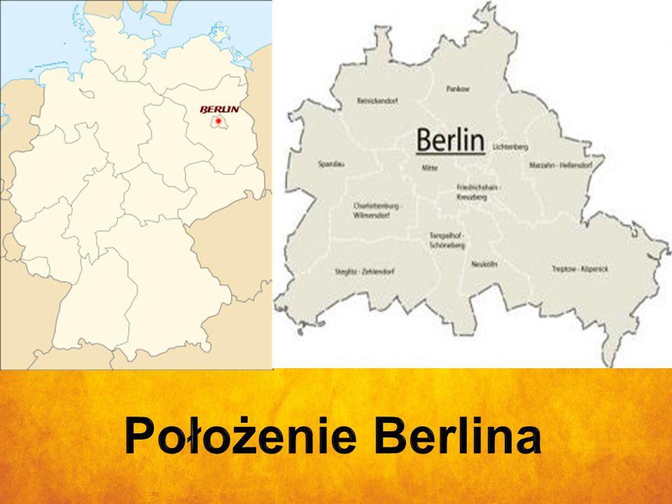 Położenie Berlina Położenie Berlina