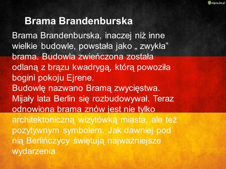 Brama Brandenburska Brama Brandenburska