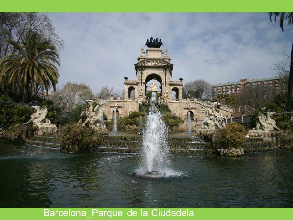 Barcelona_Parque de la Ciudadela
