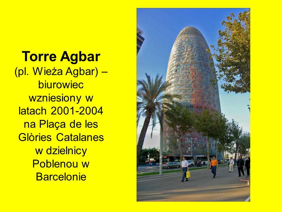Torre Agbar (pl.